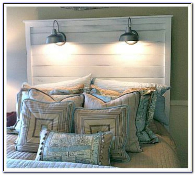 Headboard With Built In Storage