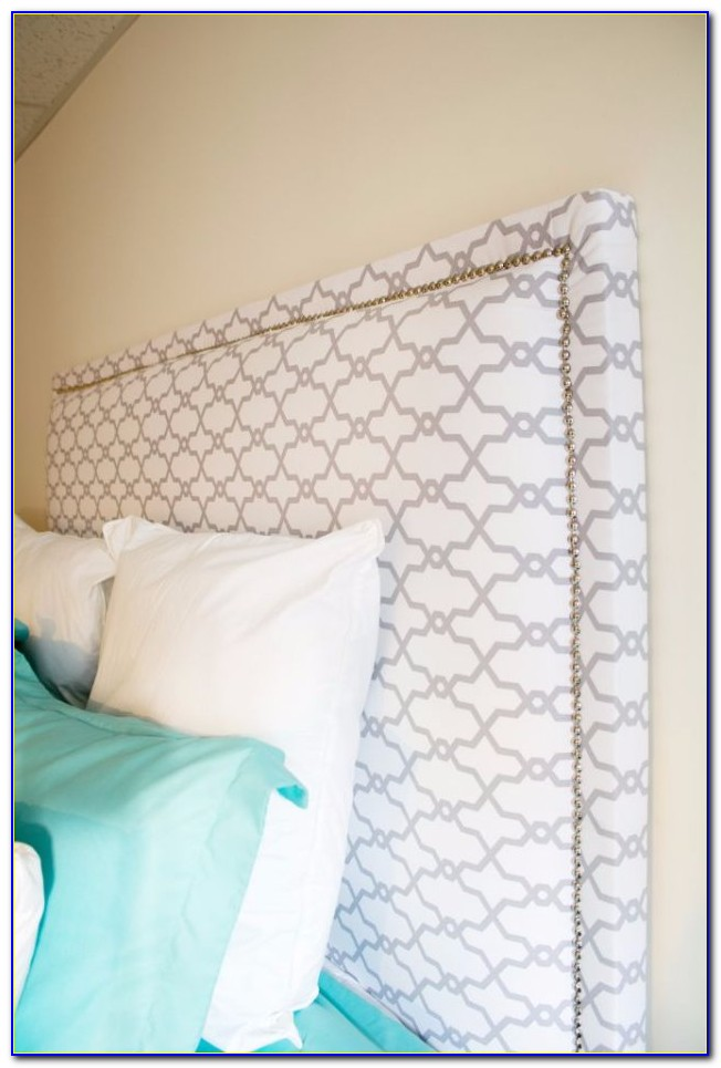 How To Make A Padded Headboard That Attaches To Bed Frame