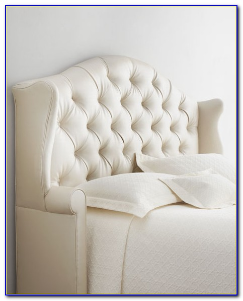 How To Make A Tufted Headboard Slipcover