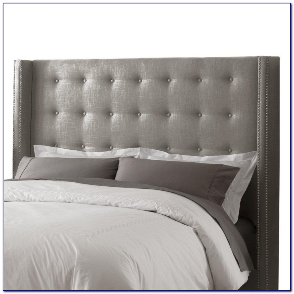 How To Make A Tufted Headboard Using Pegboard