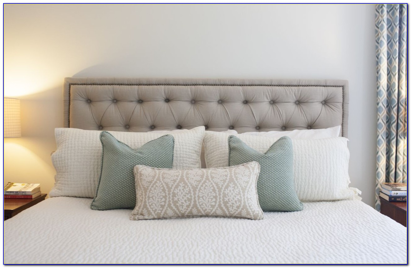 How To Make A Tufted Headboard With Pegboard