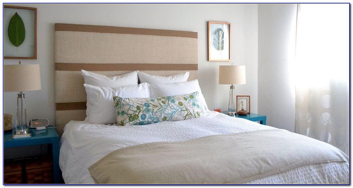 How To Make An Upholstered Headboard Attached To Bed Frame