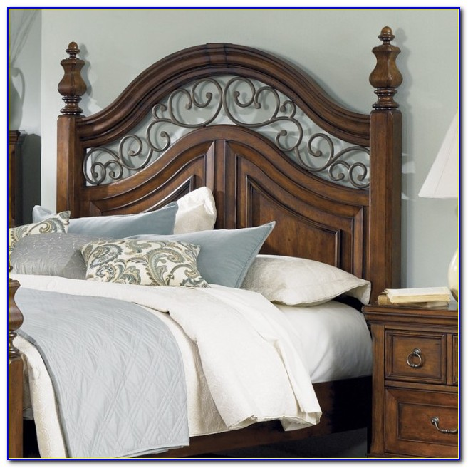 Iron And Wood Bed Headboards