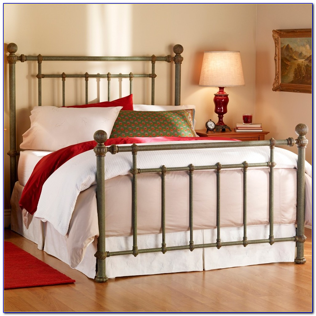 Ivory Metal King Size Headboard