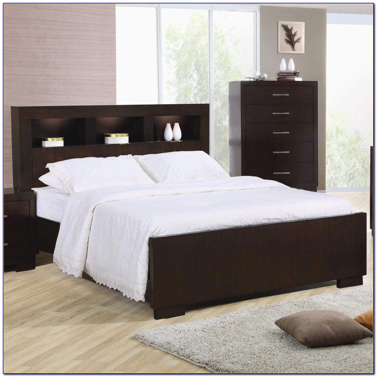 King Size Headboard With Storage
