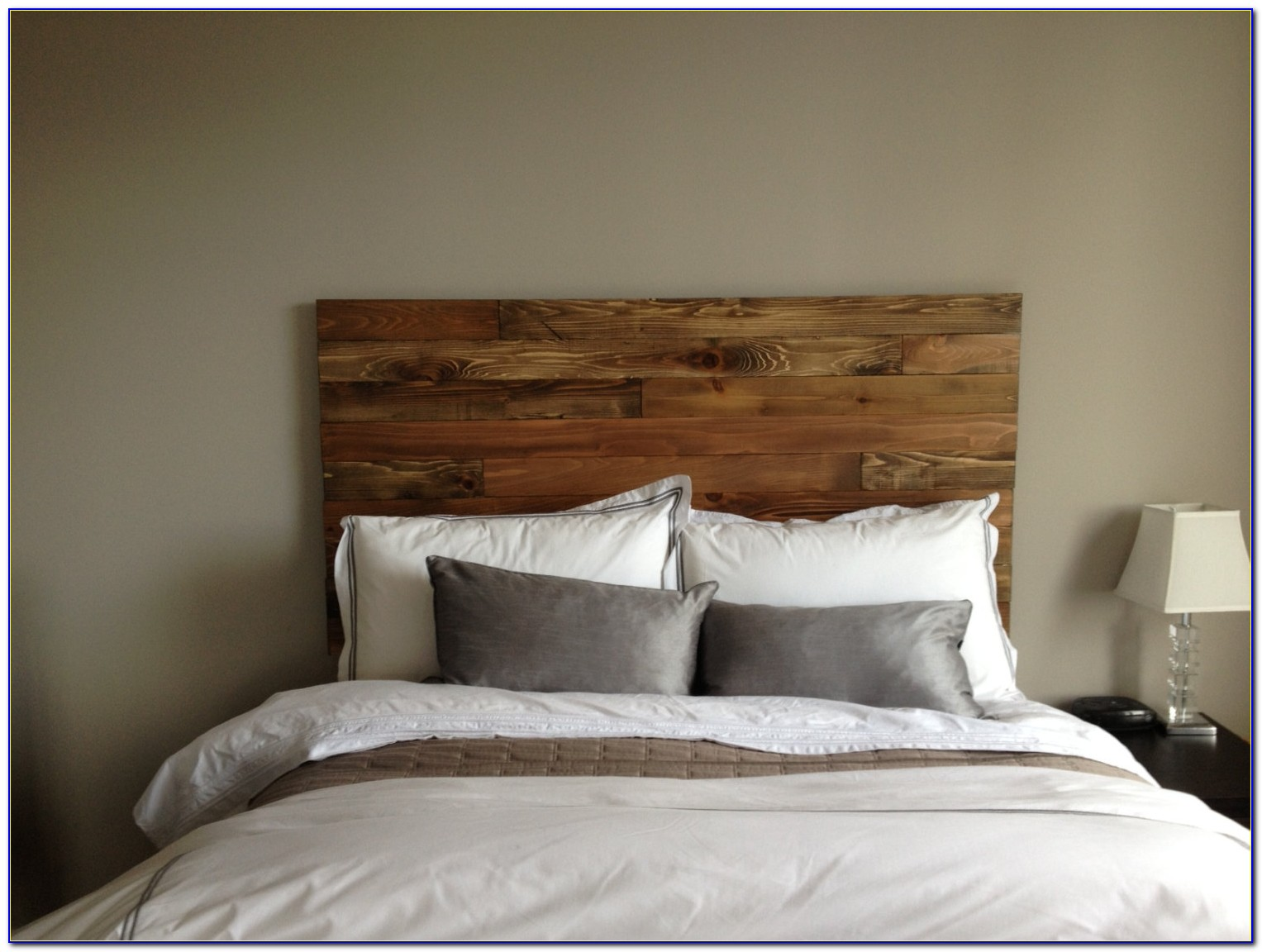 King Size Headboard Wood