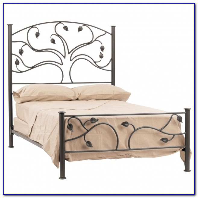 Amazing Low Profile King Metal Bed Frame Headboard Footboard Cotton Sheet Throughout King Metal Bed Frame Headboard Footboard