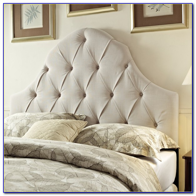 King Size Tufted Headboard Diy