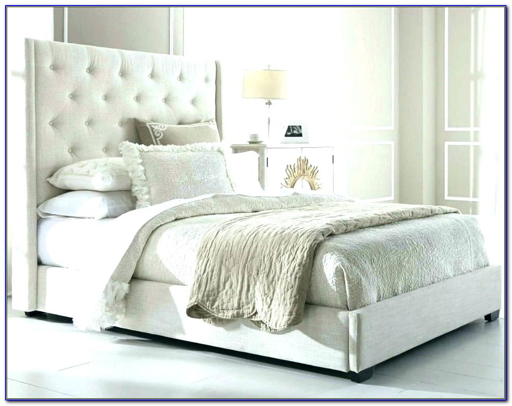 King Size Tufted Upholstered Headboard