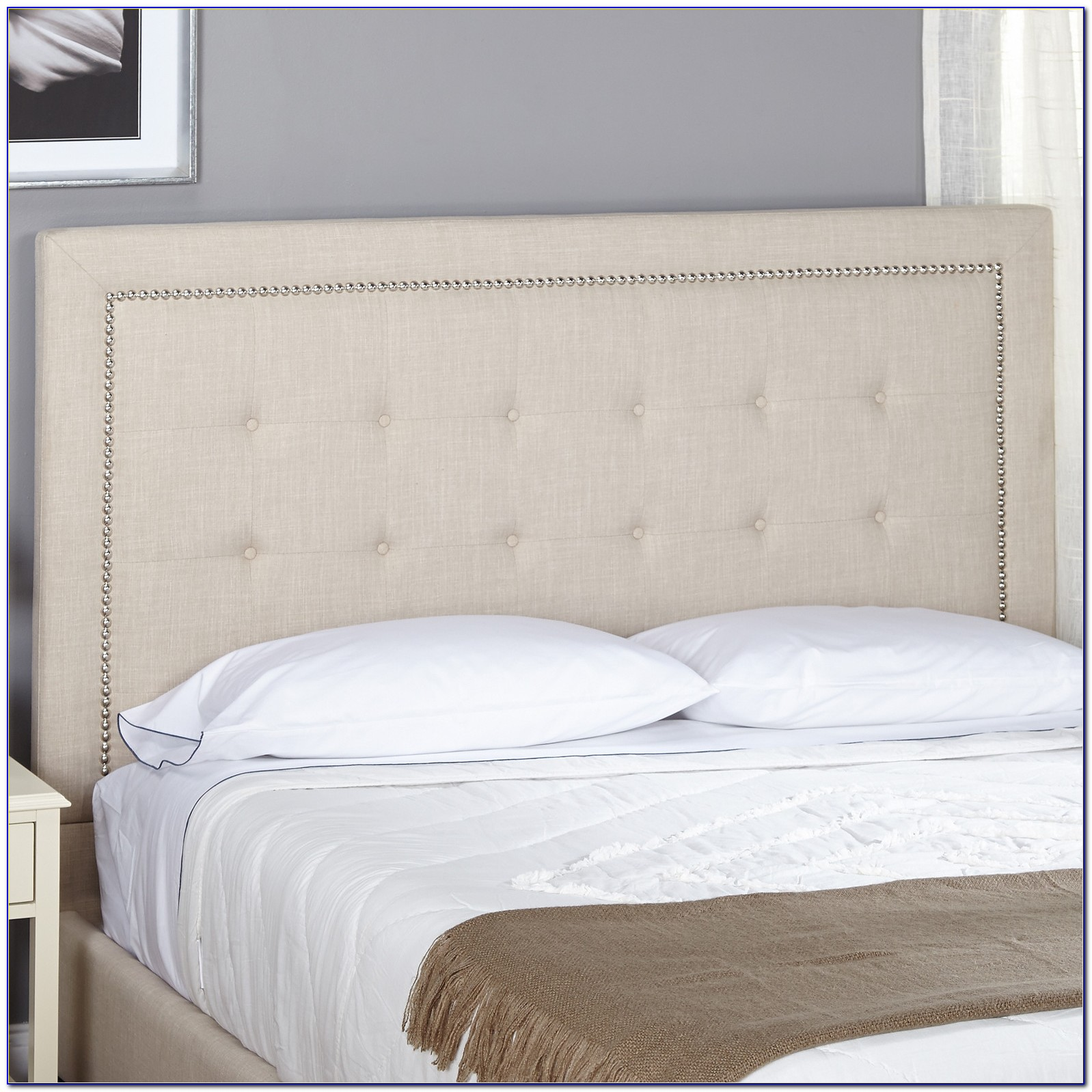 King Size Upholstered Headboard Wayfair