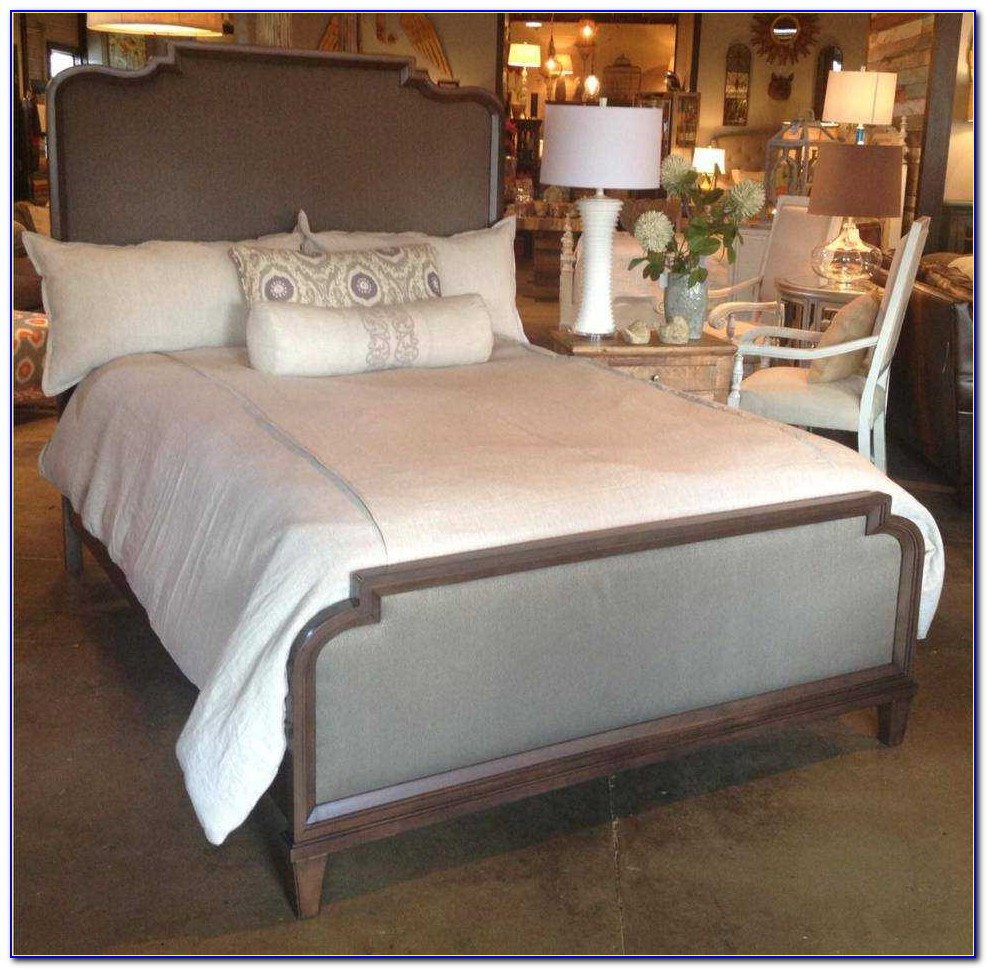 King Size Wood Headboard And Footboard