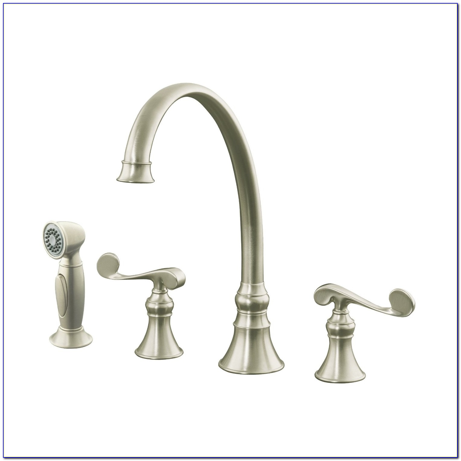 Kitchen Sink Faucets With Sprayer