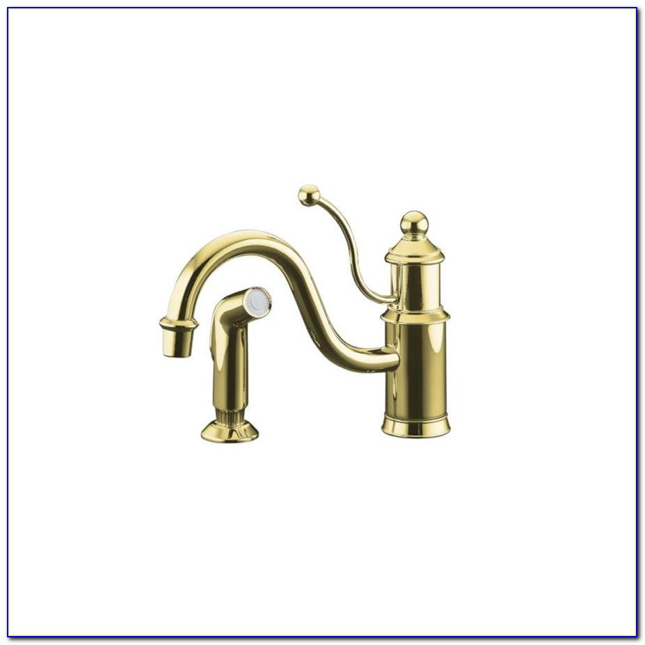 Kohler Antique Brass Kitchen Faucets