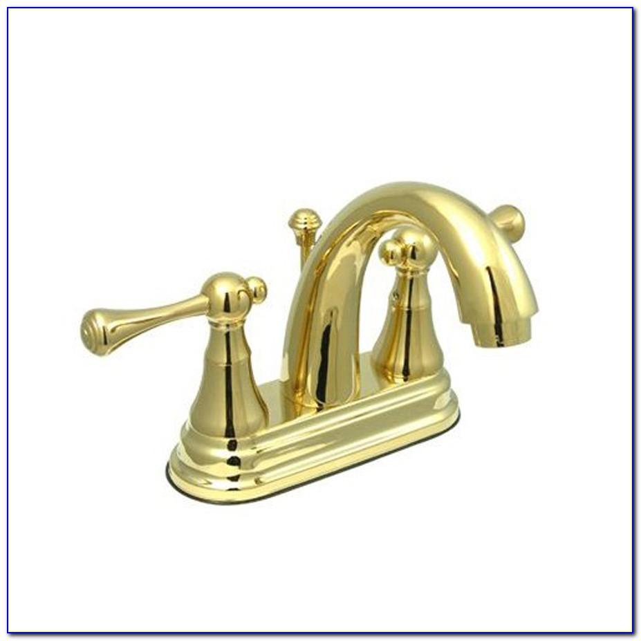 Kohler Bathroom Faucets Polished Brass