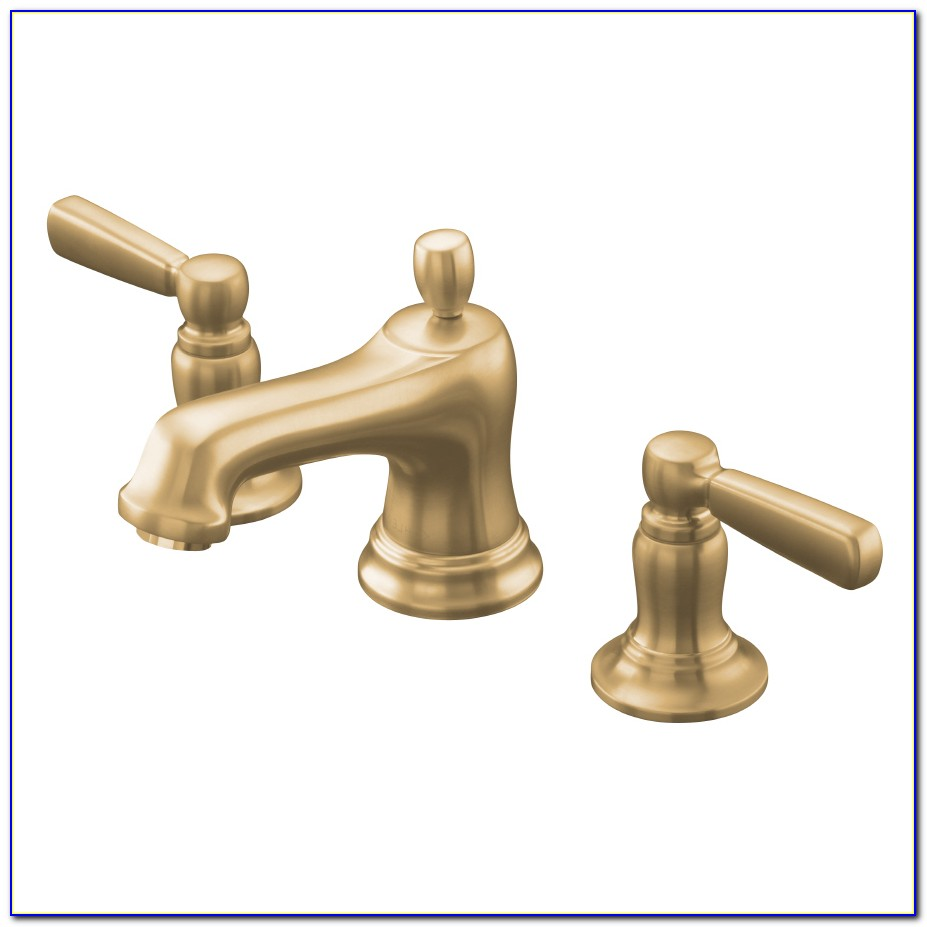 Kohler Brushed Bronze Bathroom Faucets