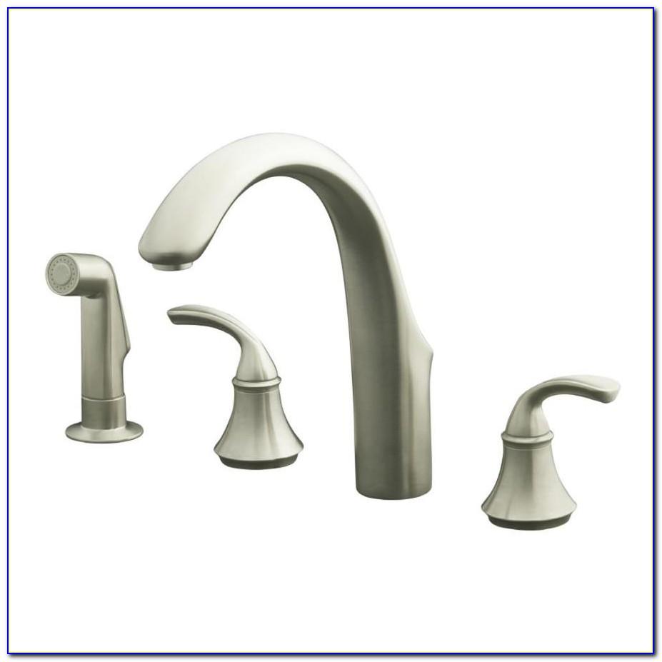 Kohler Brushed Nickel Faucet Cleaning
