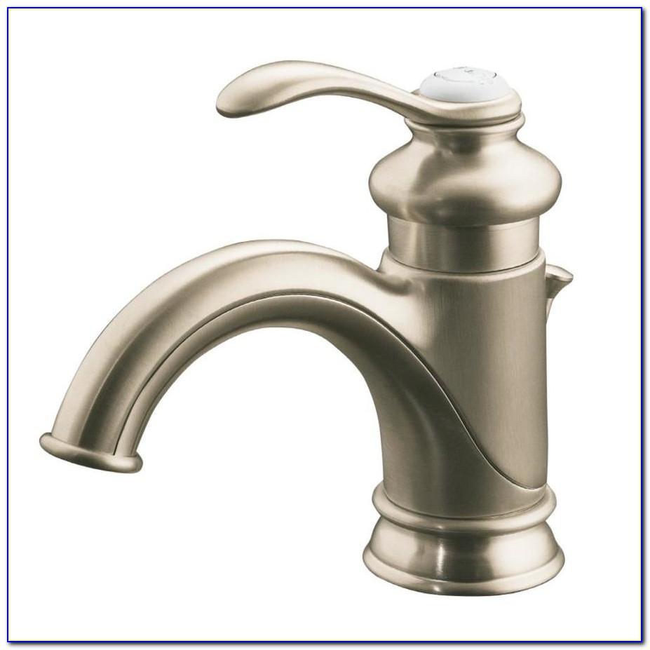 Kohler Brushed Nickel Kitchen Faucet