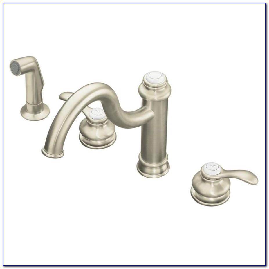 Kohler Brushed Nickel Shower Faucet