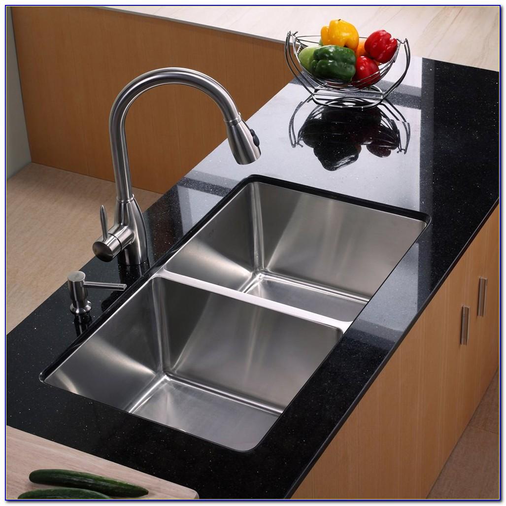 Kraus Kitchen Sink Faucet Combo