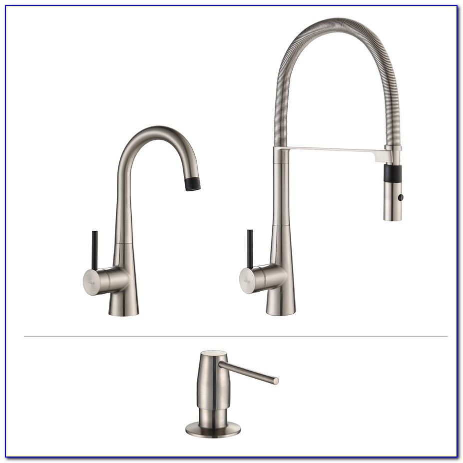 Kraus Pull Down Kitchen Faucet With Soap Dispenser