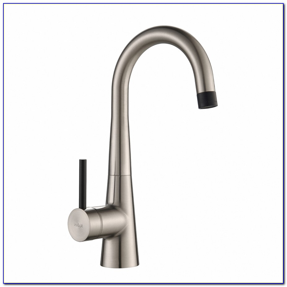 Kraus Single Lever Pull Out Kitchen Faucet Stainless Steel