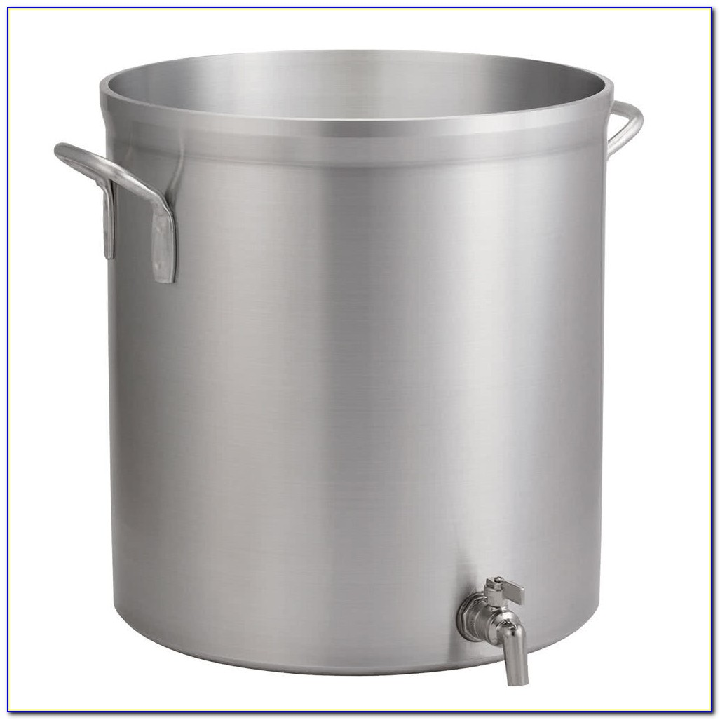 Large Stock Pot With Faucet