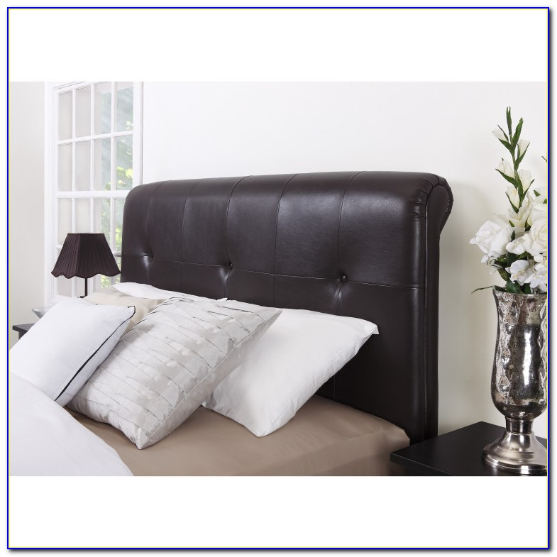 Leather Tufted Headboard Cal King