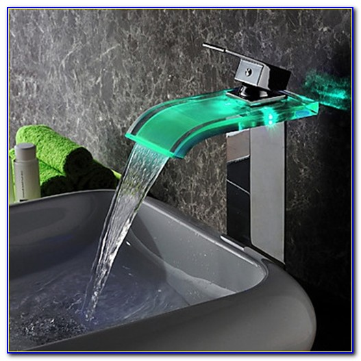 Led Bathroom Sink Faucet