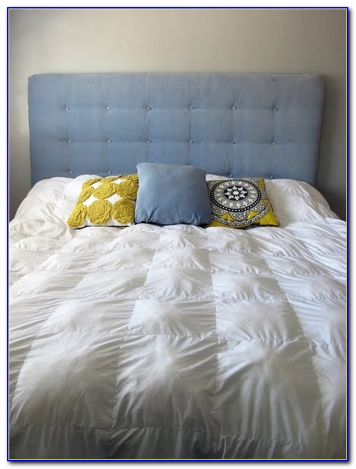 Make A Fabric Tufted Headboard