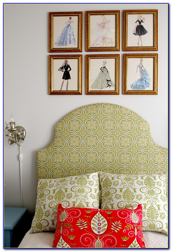Make Your Own Upholstered Headboard With Buttons