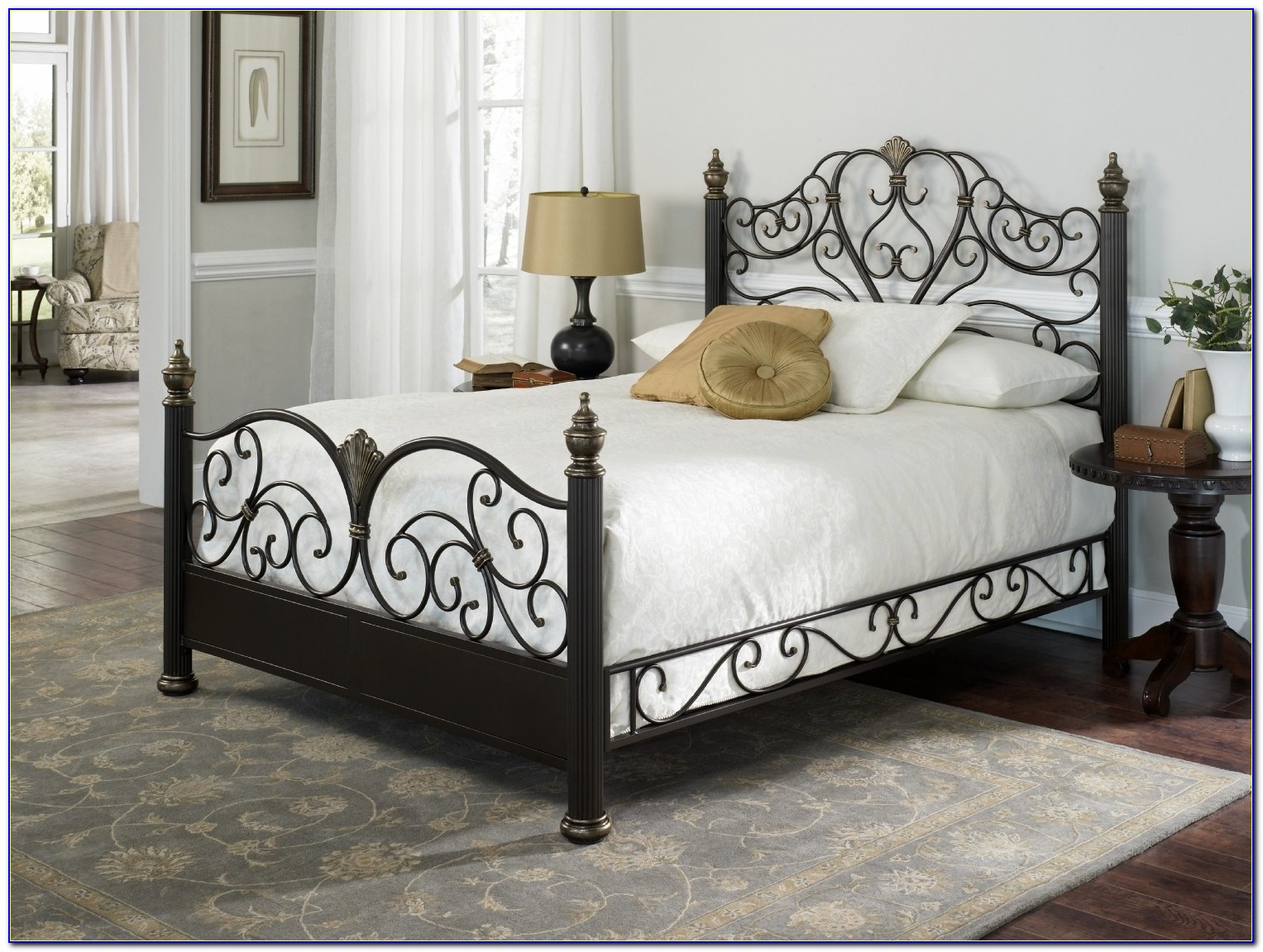 Black Metal Bed Frames Queensome Outstanding Various Metal Queen Bed Design Ideas Bedroomi