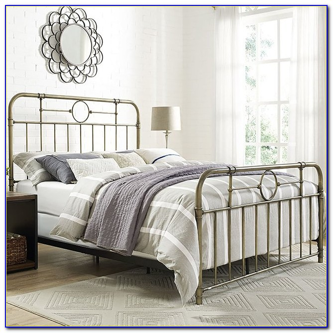 Metal Bed Frame Headboard & Footboard Conversion