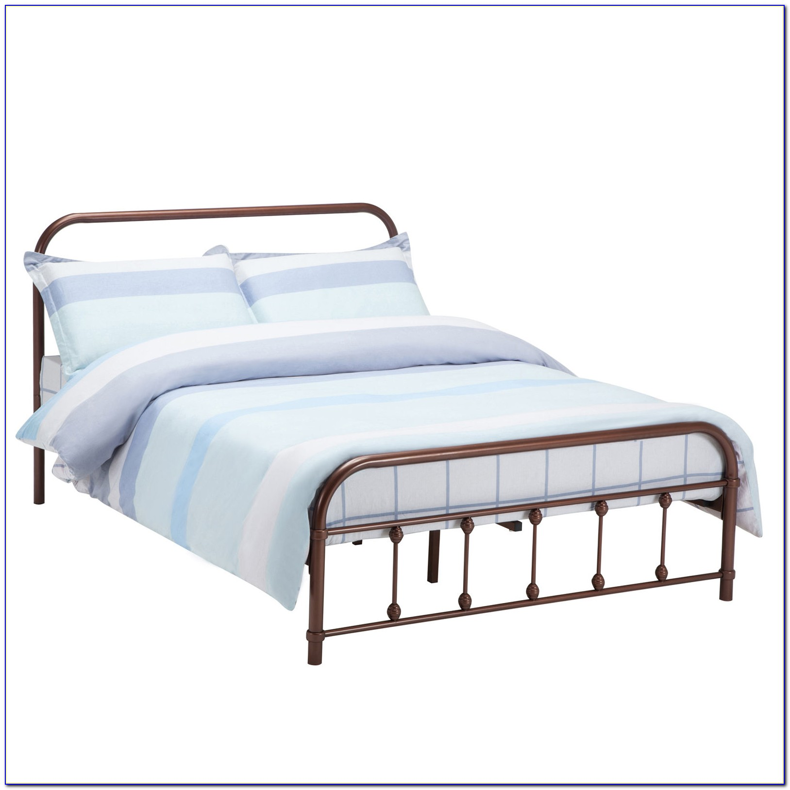 Metal Headboard And Footboard King Size