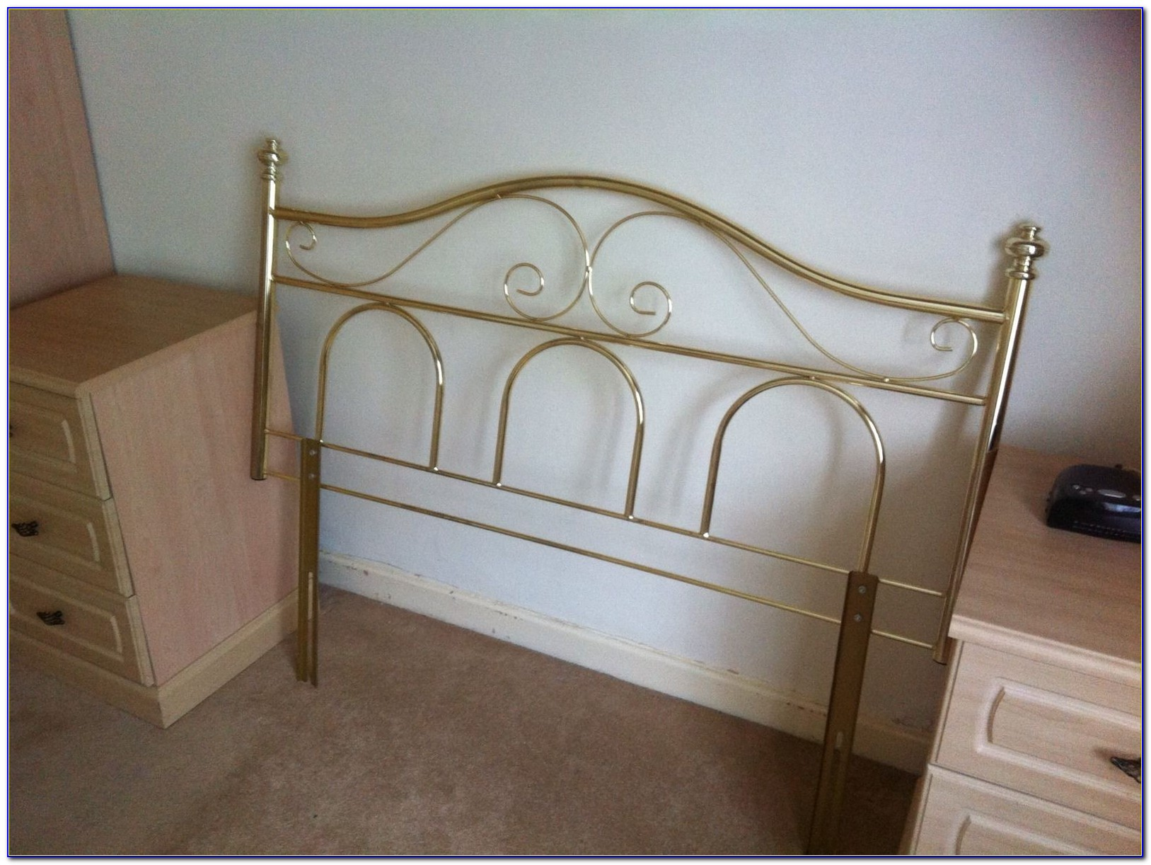 Metal Headboards For Small Double Beds