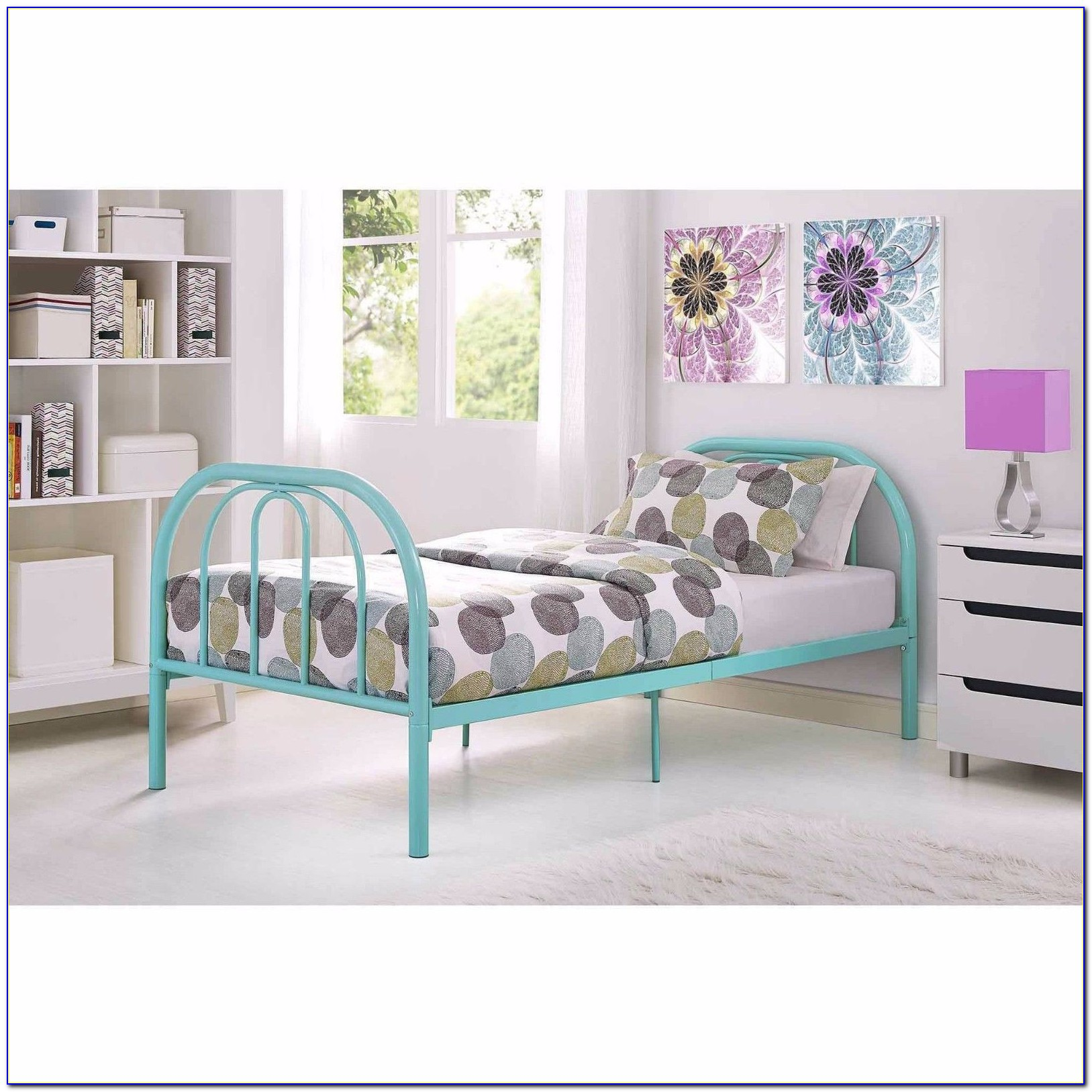 Metal Twin Xl Bed Frame With Headboard