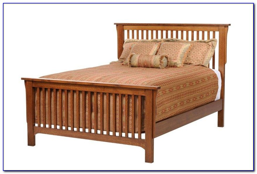 Mission Style King Size Headboard Plans