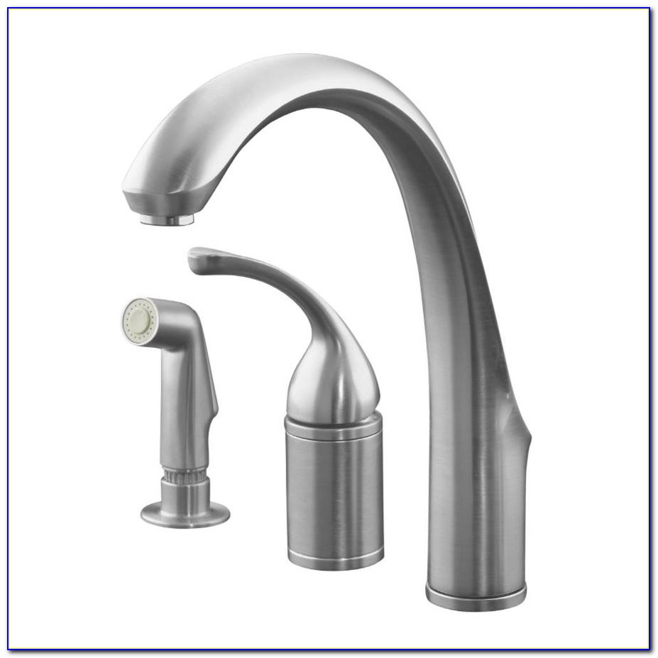 Moen Arbor Single Handle High Arc Kitchen Faucet In Classic Stainless