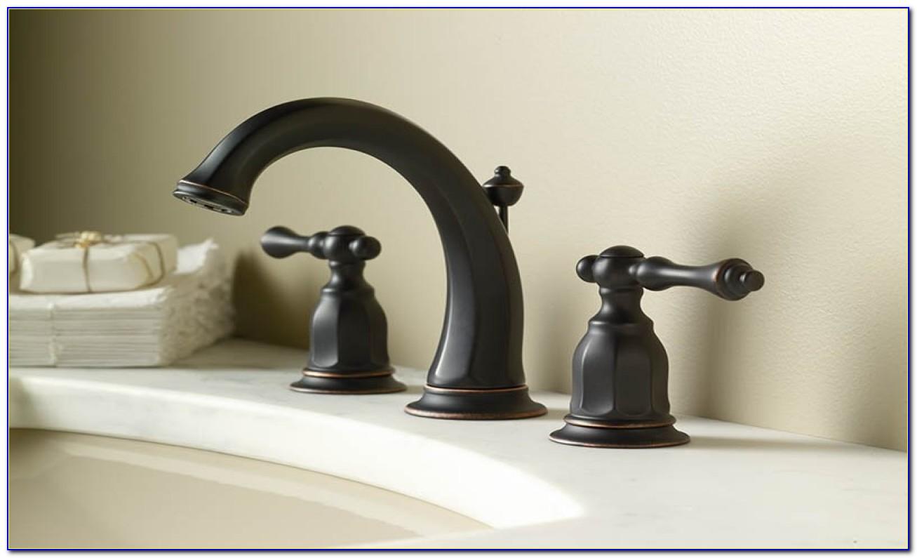 Moen Brantford Two Handle Bathroom Faucet Oil Rubbed Bronze