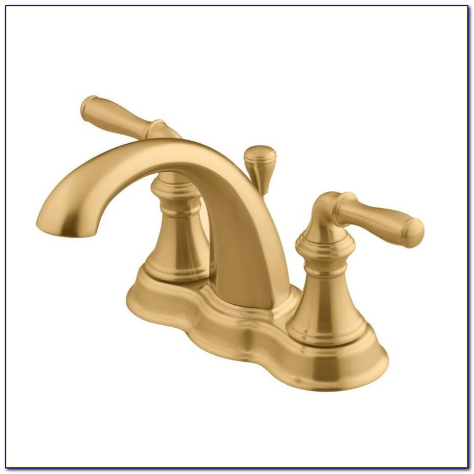 Moen Brushed Bronze Bathroom Faucets