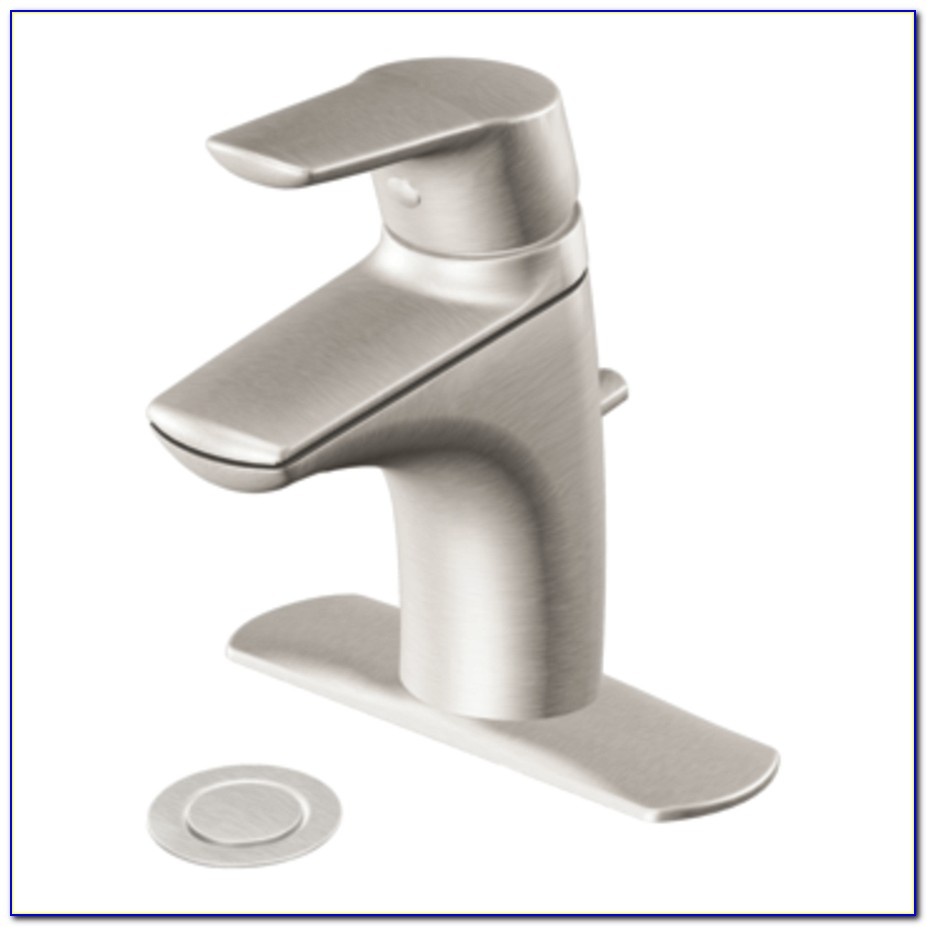 Moen Brushed Nickel Bathroom Faucets