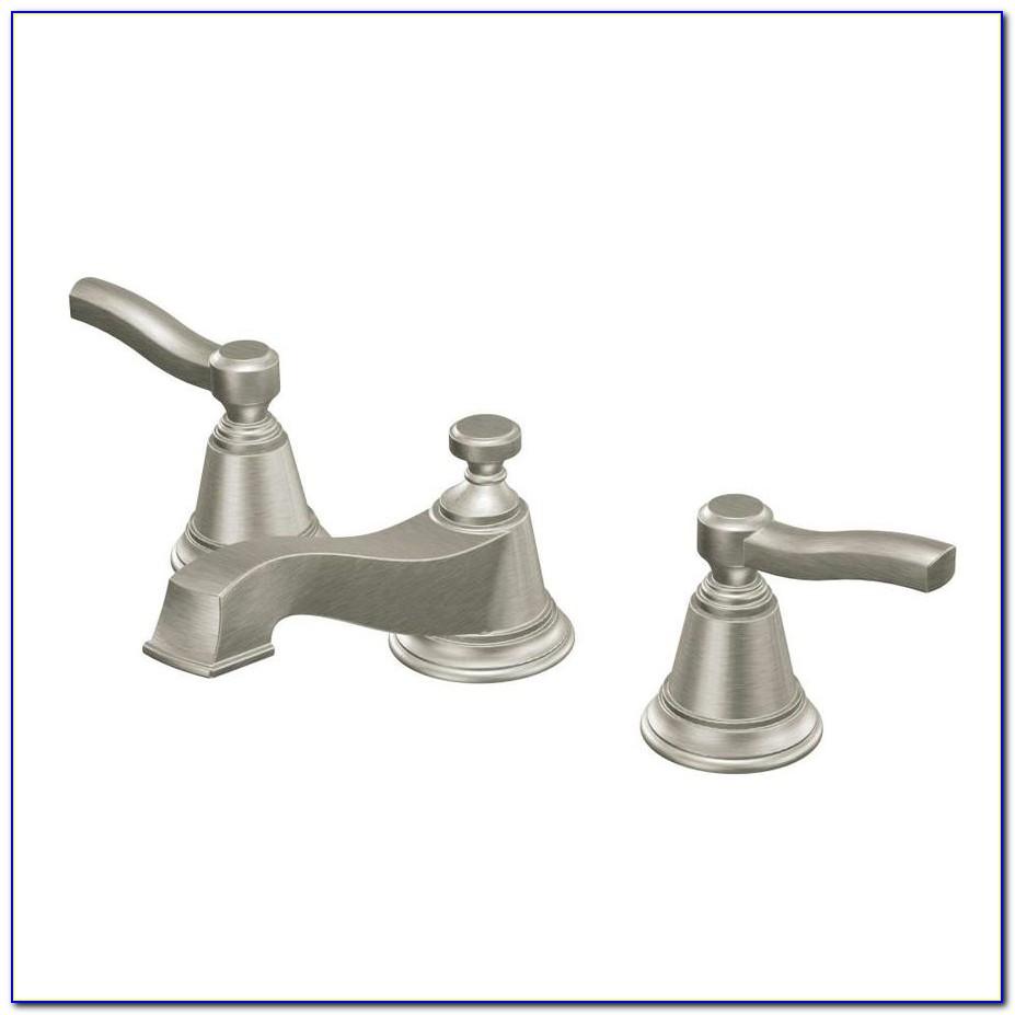Moen Brushed Nickel Faucet Kitchen