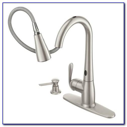 Moen Haysfield 87350esrs Motionsense Pulldown Kitchen Faucet