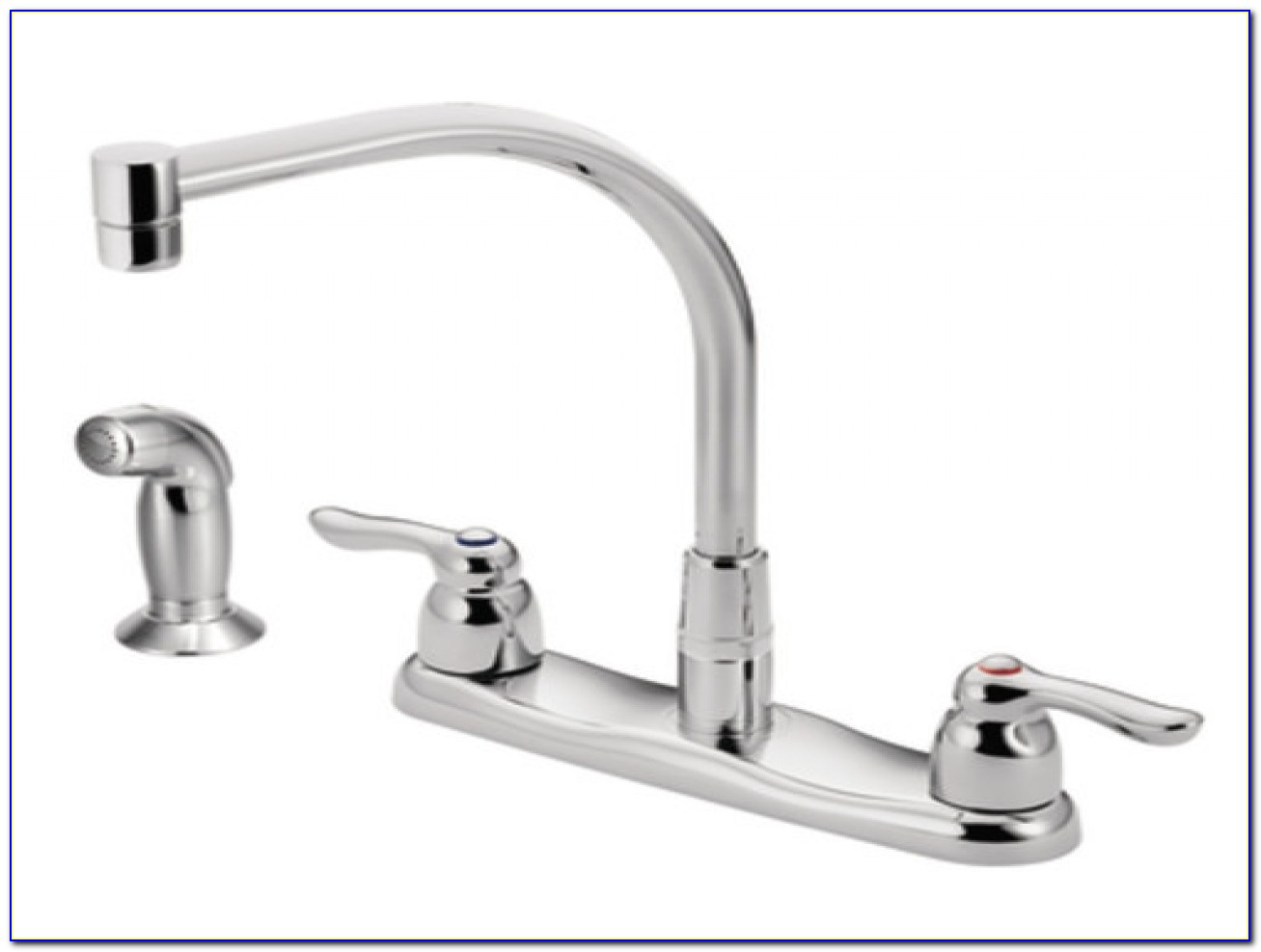 Moen Two Handle Kitchen Faucet Kitchens With Corner Sinks Modern Contemporary Homes