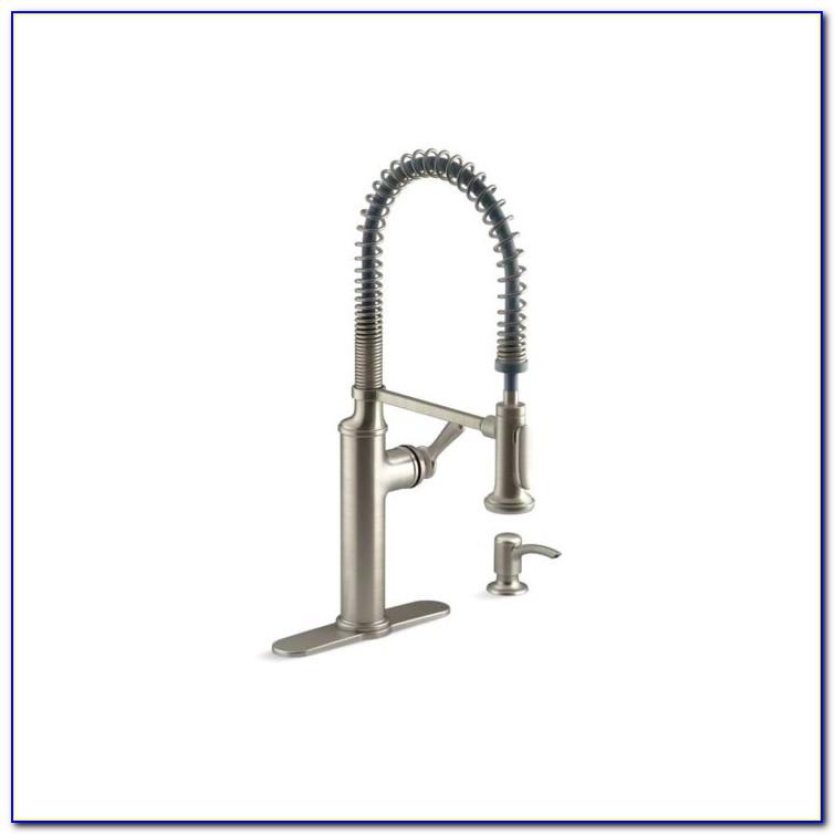 Moen Kitchen Faucets Brushed Nickel