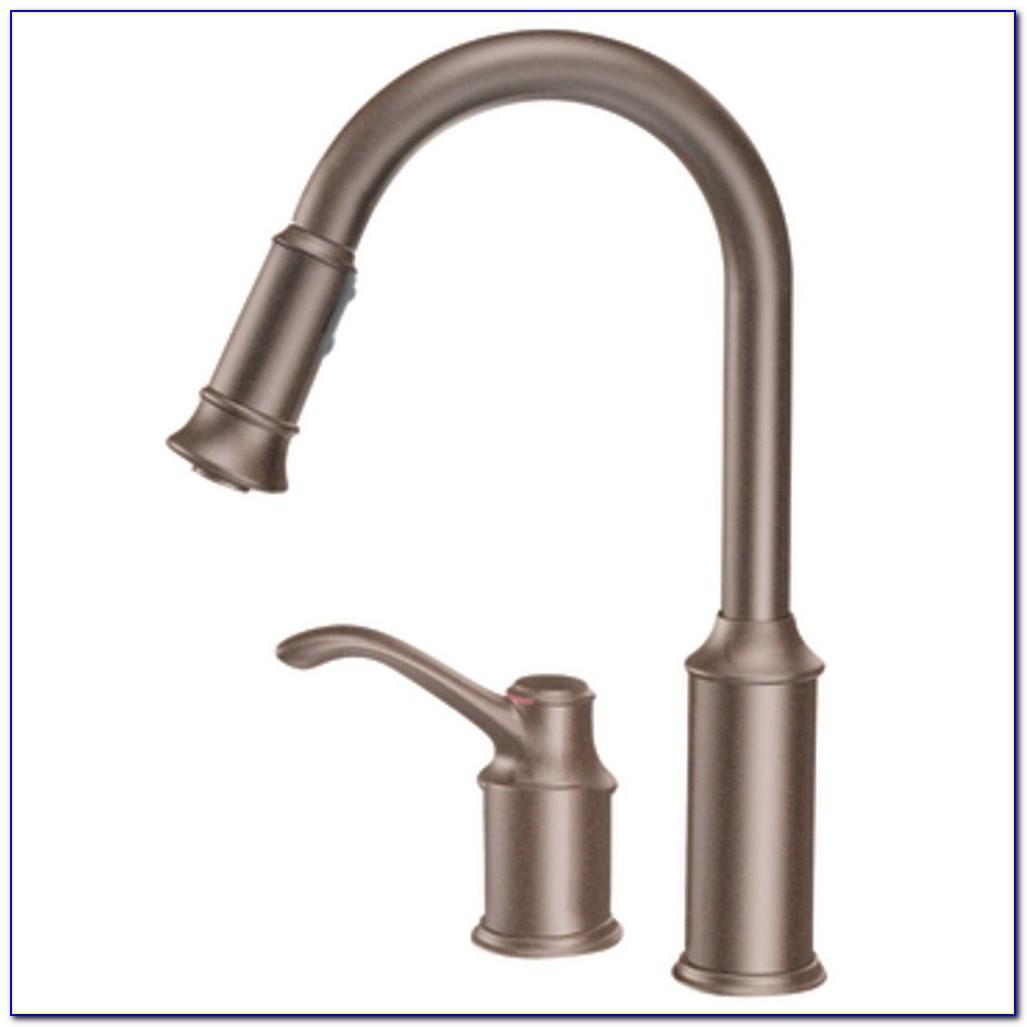 Moen Oil Rubbed Bronze Faucet Kitchen