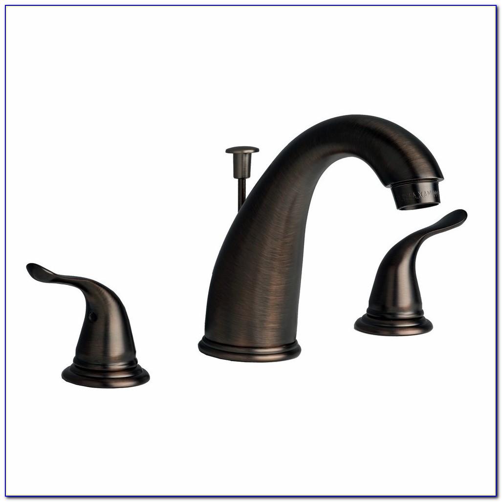 Moen Rubbed Bronze Bathroom Faucets