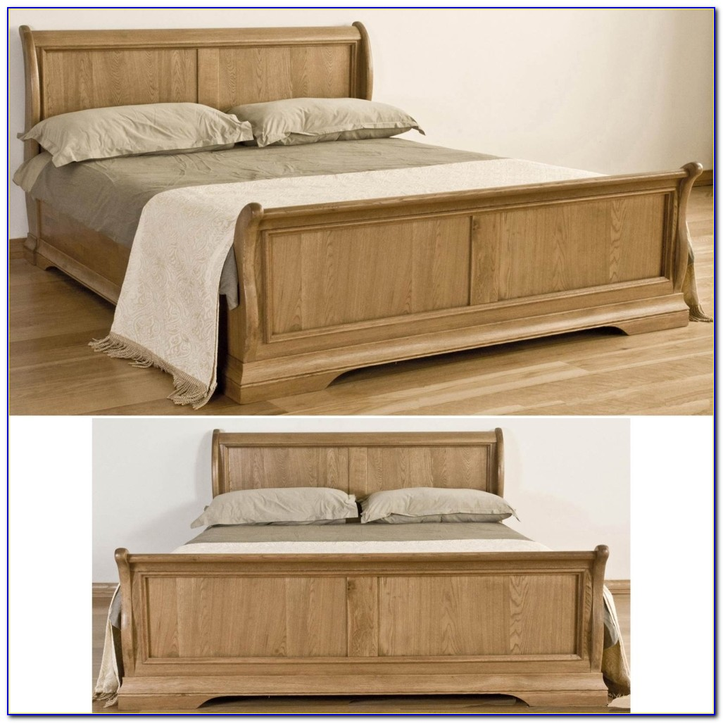 Oak King Size Bookcase Headboard