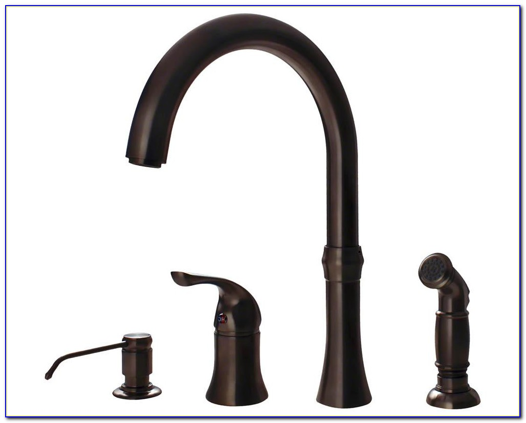 Oil Rubbed Bronze Kitchen Sink Faucets