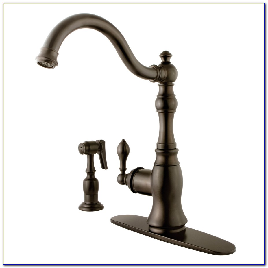 Oiled Bronze Kitchen Faucets