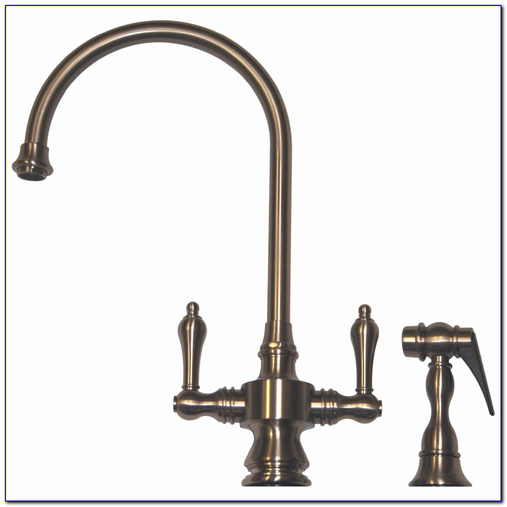 Antique Kitchen Faucet Lovely Whitehaus Collection Vintage Iii 2 Handle Standard Kitchen Faucet
